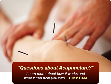 Questions About Acupuncture?